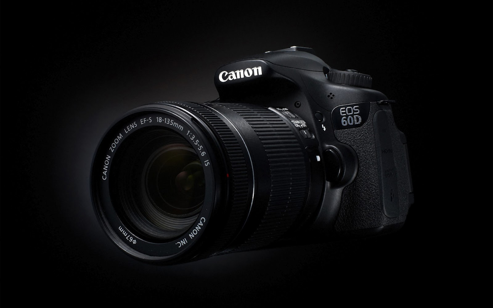 Canon EOS 60D DSLR HD Wallpaper