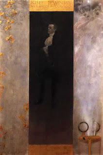 Klimt, ritratto di Josef Lewinskj