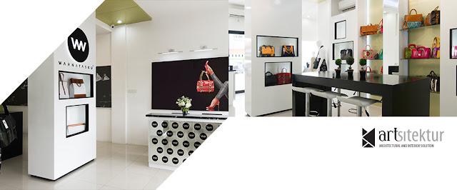 The One with Hi-end Handbag Showroom artsitektur