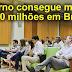 Governo consegue mais de R$ 300 milhões em Brasília