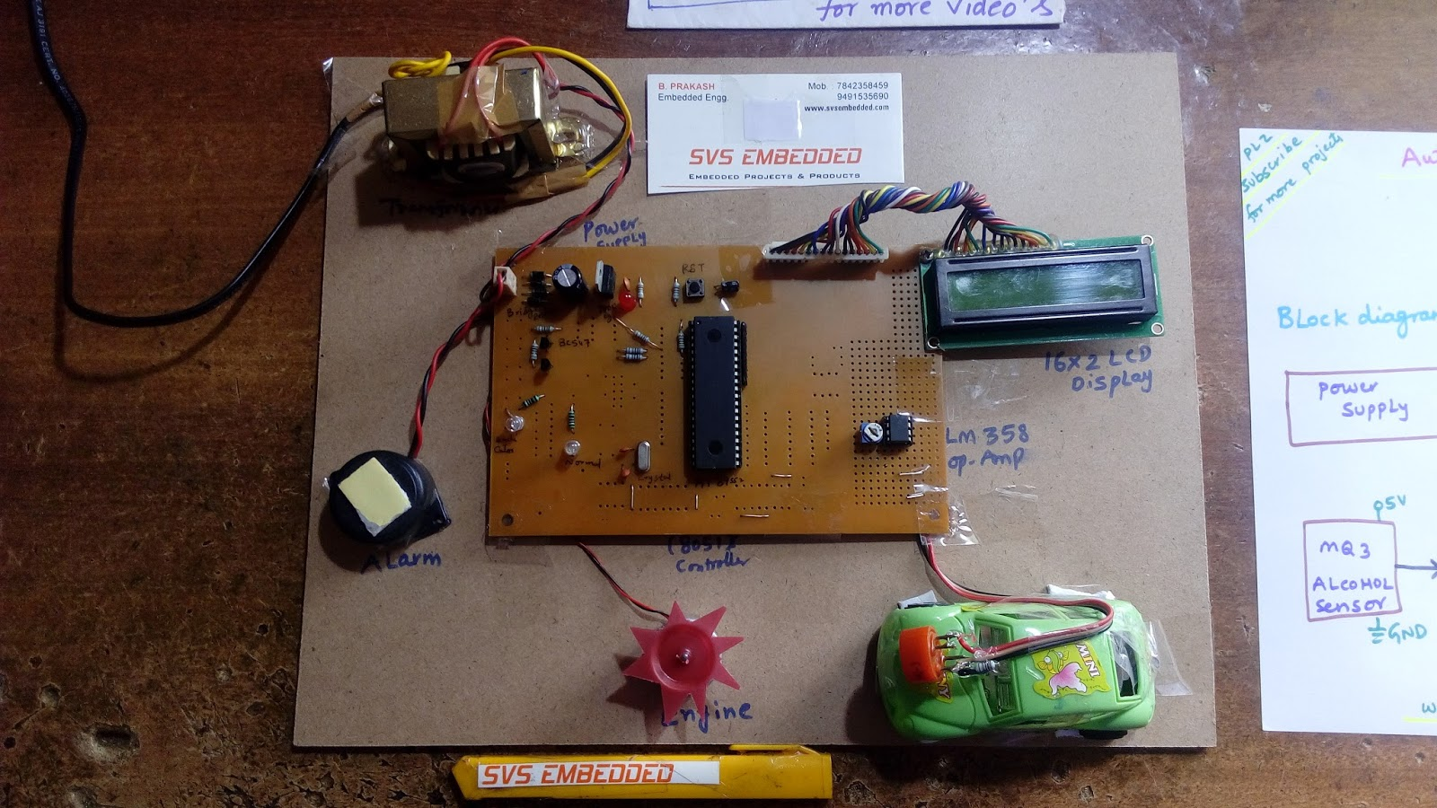 Diagram  Drink U0026 Drive Detection With Ignition Lock