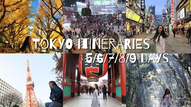 Tokyo 5 days itinerary