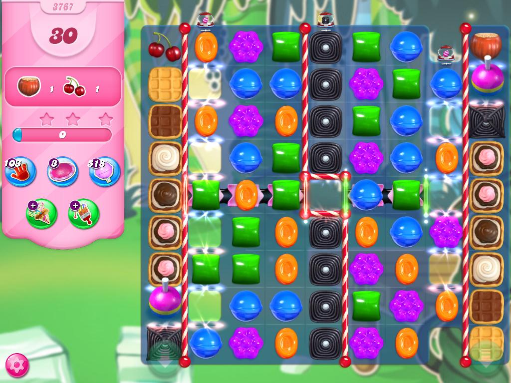 Candy Crush Saga level 3767