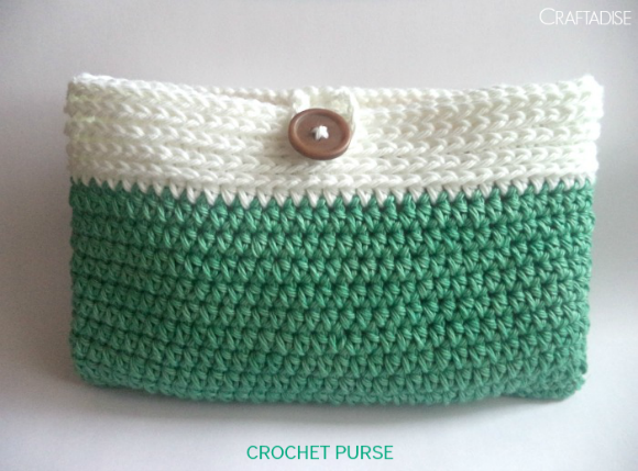 Free crochet pattern: Explore Crochet Purse