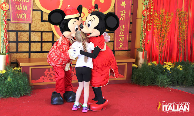 Mickey and Minnie Lunar New Year