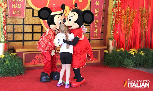 Mickey and Minnie Lunar New Year