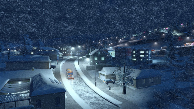 Cities Skylines Snowfall Download Photo
