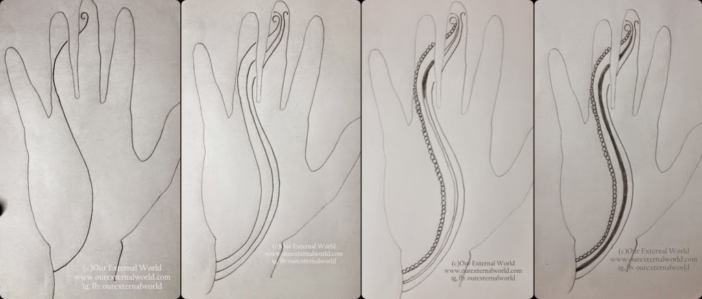 DIY Mehndi Design (Henna Pattern) Tutorial