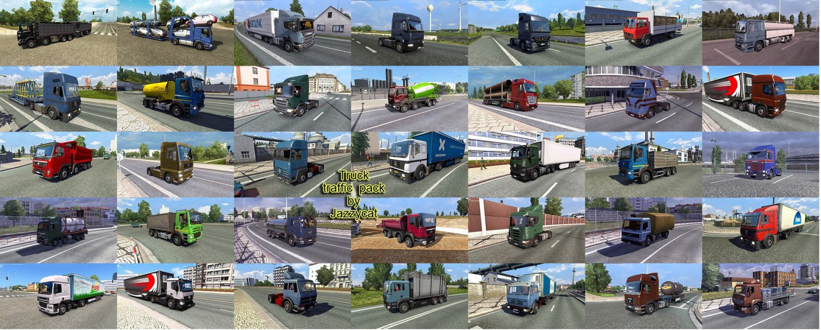 Jazzycat – Truck Traffic Pack 2.4.1
