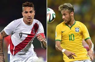 Perú vs Brasil en Eliminatorias CONMEBOL Rusia 2018
