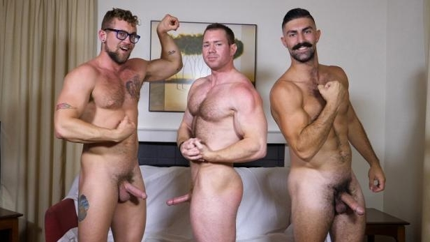 Beau, Brandon Ashton, Jay Austin – Three Men One Pornstash ,Part 1