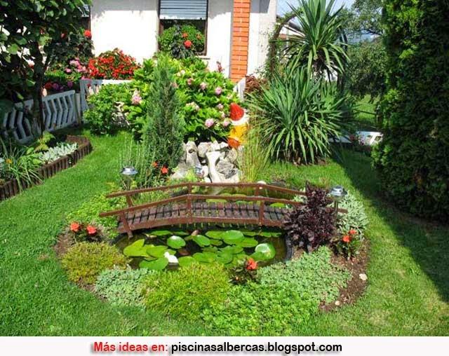 Diseno De Jardines Pequenos Terrazas Y Jardines Fotos De Jardines - Decoracion-jardines-pequeos