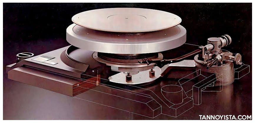 Cutaway of TRIO KENWOOD L-07D Turntable - Tannoyista.com
