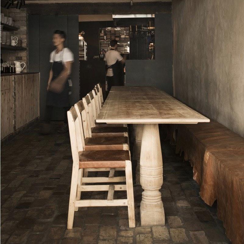Maria victrix: Interior tecnoartesano en el restaurante Farmhouse de Sydney