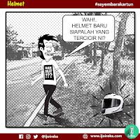 Sayembara Kartun:Helmet