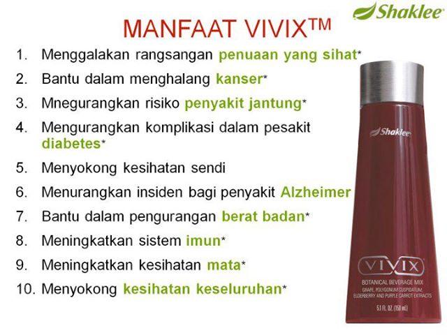 Vivix Benefits