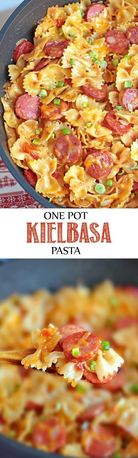 One Pot Kielbasa Pasta - Beef Recipes