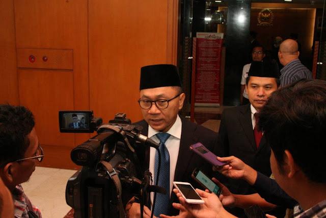 Zulkifli Hasan Kaget Pelaksana Tugas Gubernur Polisi Aktif