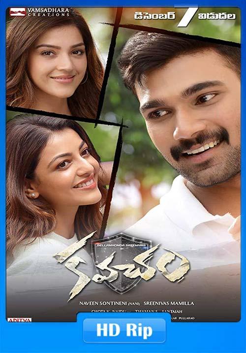 Inspector Vijay (Kavacham) 2019 720p WEBHD Hindi Telugu | 480p 300MB | 100MB HEVC Poster