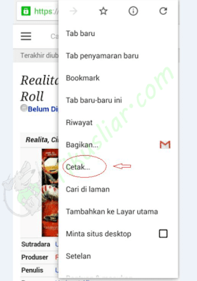 Cara Mudah Menyimpan (Convert) Halaman WEB ke PDF di Android