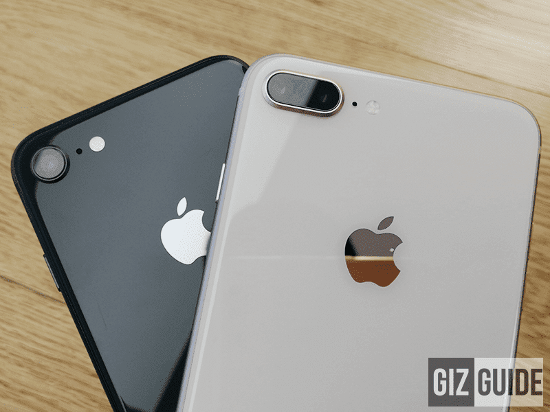 iPhone 8 Plus has a dual camera setup