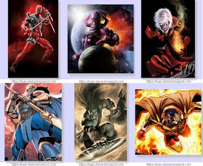 Karakter-Karakter Paling Kuat Dalam Marvel Universe
