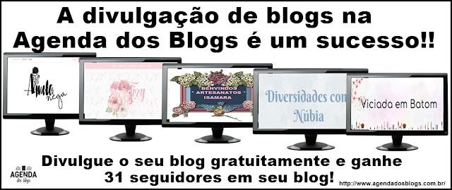 Vários pcs com imagens de blogs