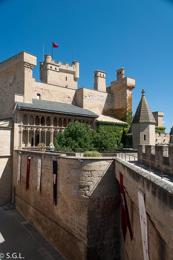 Galeria del rey del Palacio real de Olite