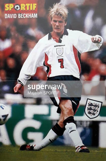 DAVID ROBERT JOSEPH BECKHAM OF ENGLAND 1998