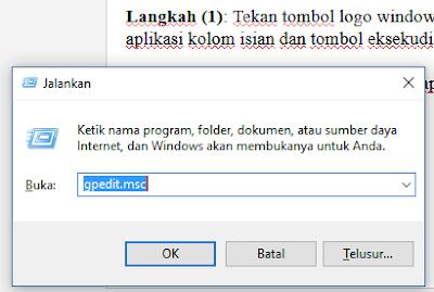 gpedit.msc windows 10