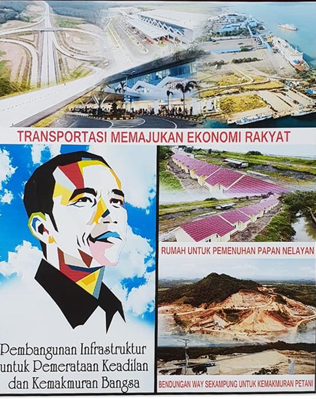 Keberhasilan Pembangunan Jokowi di Lampung