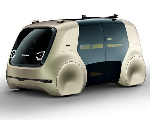 Tinuku.com Volkswagen announced VW Sedric as design autonomous mobile lounge car at Geneva Motor Show 2017