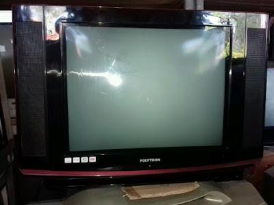 kerusakan tv polytron slim