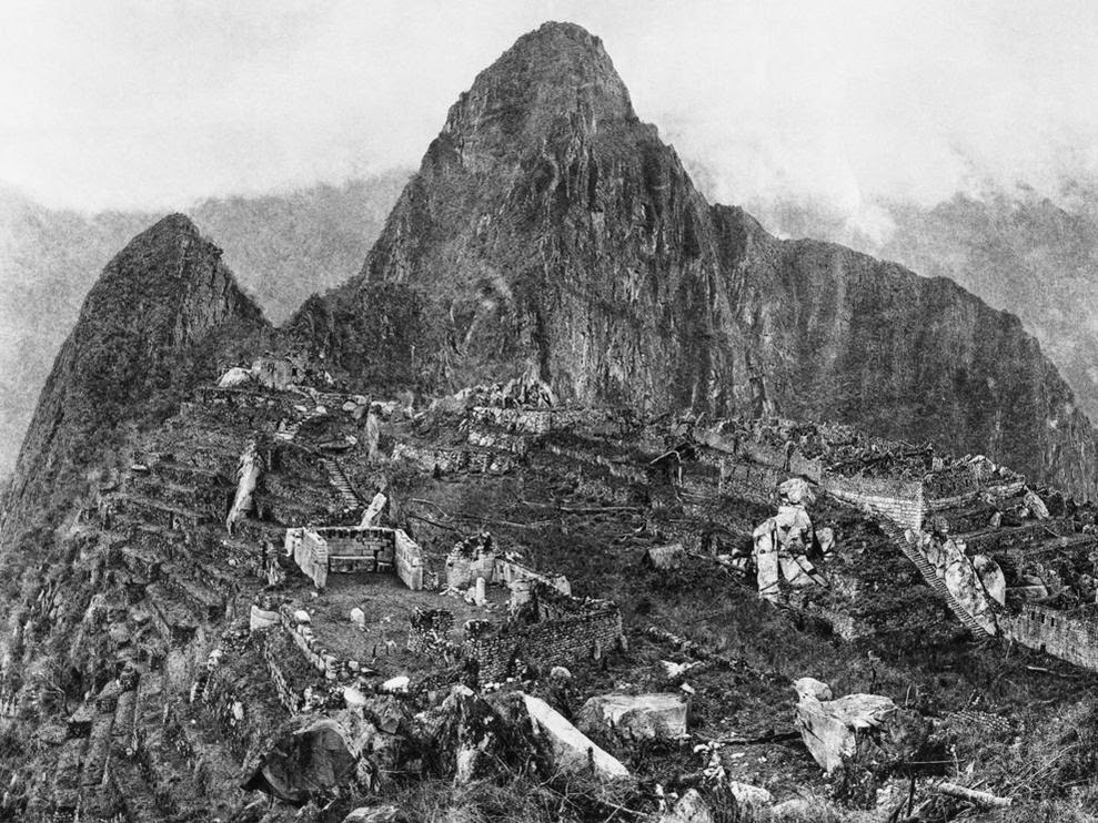 Ultimate Collection Of Rare Historical Photos. A Big Piece Of History (200 Pictures) - Machu Picchu