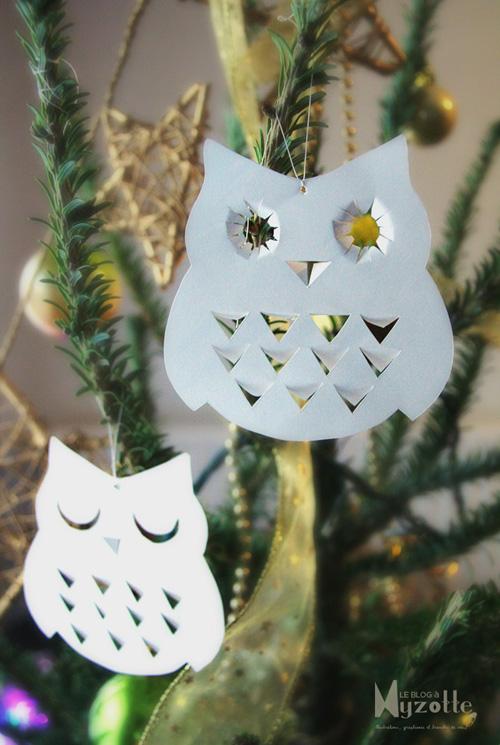 My Owl Barn: 10 DIY Owl Christmas Ornaments