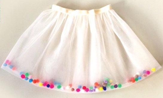 Фатиновые юбки для детей сшить