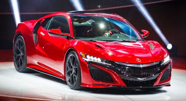 Honda sports car Acura NSX - keys mood