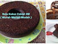 Resep Kue yang Bunda Cari Nih !! Bolu Kukus Coklat 3M ( Murah,Meriah,Mudah ) Nggak Pake Mahal & Ribet Tapi Lezaaat !!