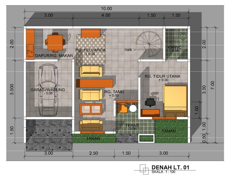 Tata Ruang Rumah  Minimalis  Desain Rumah