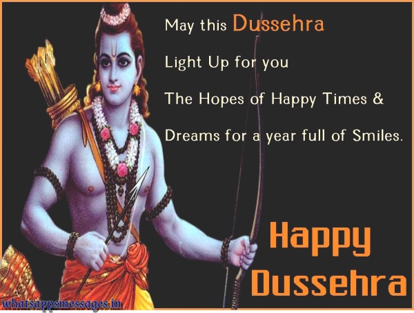 Happy Dussehra SMS