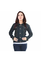 Alfacart Jaket Jeans Simply Hitam ANDHIMIND