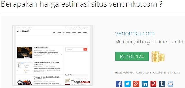 Harga Website VenomKu
