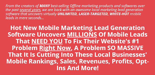 Mobile Lead Scout [Uncovers MILLIONS Of Mobile Leads]