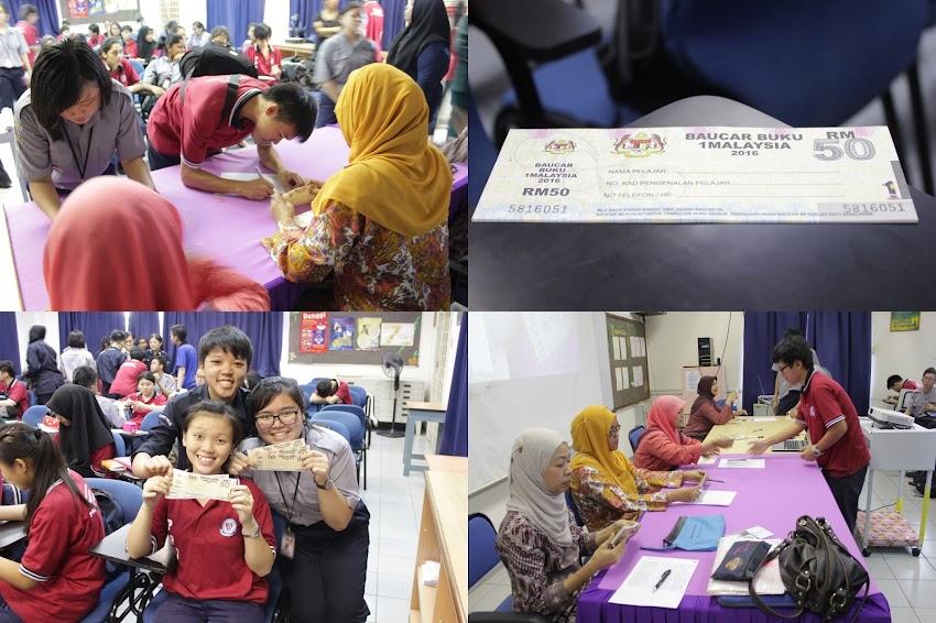 PENGAGIHAN BAUCAR BUKU 1 MALAYSIA KEPADA PPU