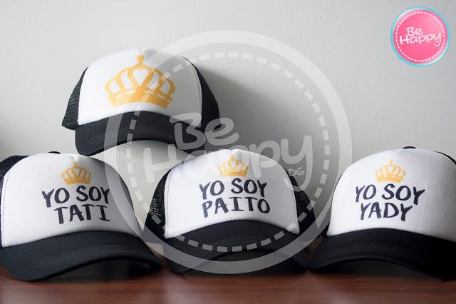 Be happy  Gorras Personalizadas Bucaramanga 8cc5f07e657