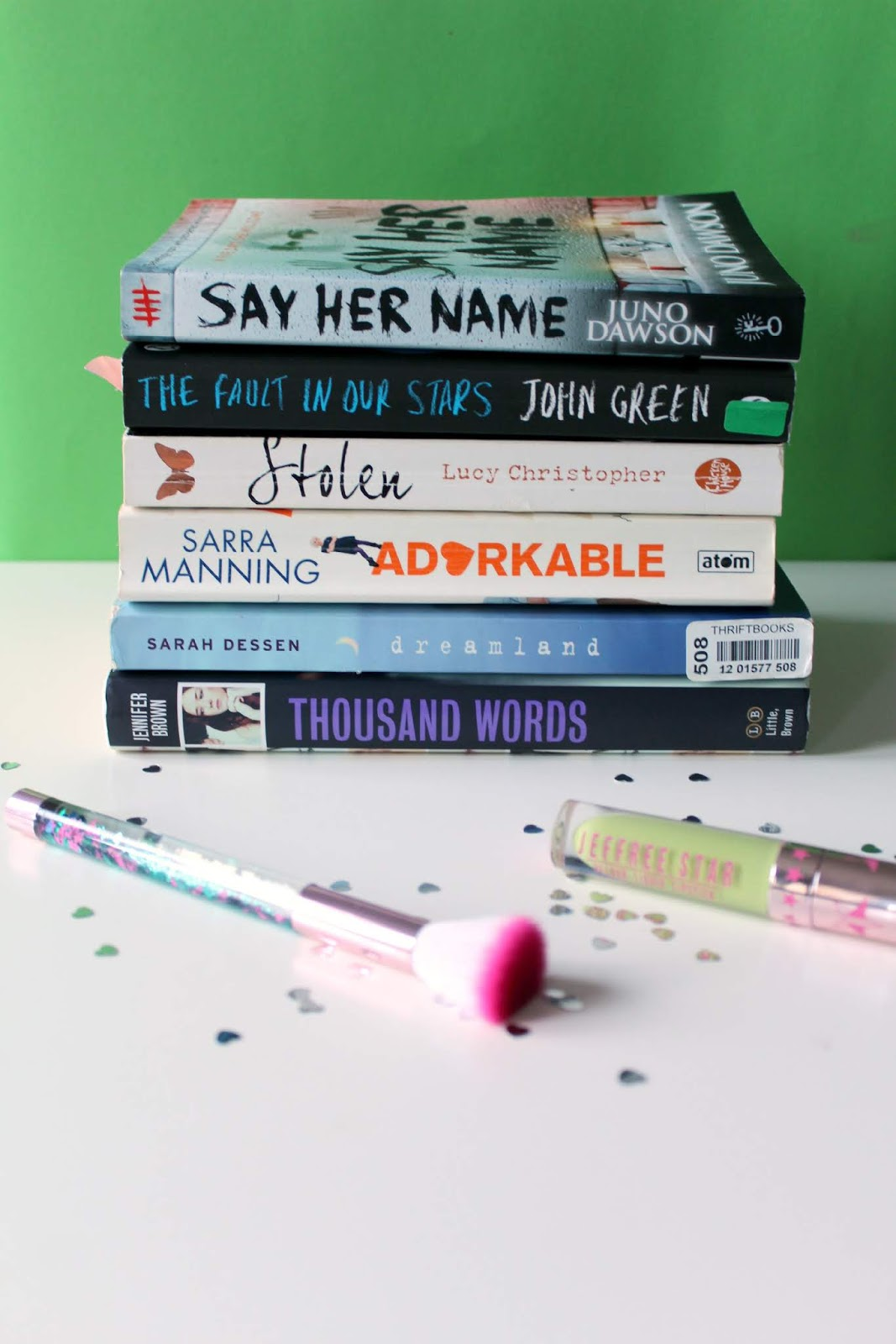 young adult books to read, ya must reads, books to read, say her name, juno dawson, review, the fault in our stars, john green, stolen, lucy christopher, sarra manning, adorkable, dreamland, sarah dessen, thousand words, jennifer brown