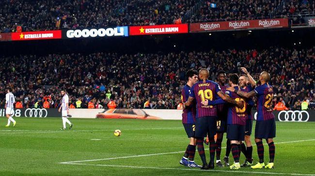 Berikut Klasemen Liga Spanyol Usai Barcelona Dan Atletico Menang 2019