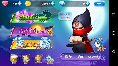 Download Sprint Ninja v1.0.2 Apk Screenshot 1