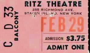 Ritz Theatre Staten Island