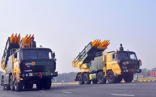 Pinaka Guided Weapons System Indigenously Developed by DRDO